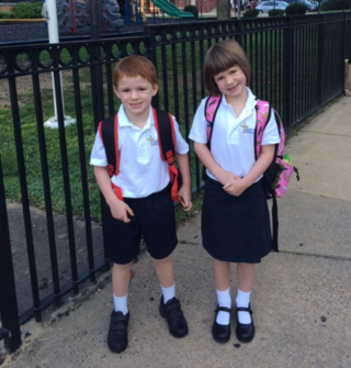 The first day of kindergarten!