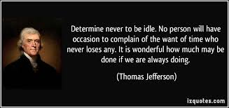 Jefferson idle