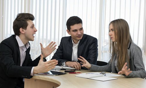 resolving conflicts in the workplace Rather than focusing on what went wrong or who should have done what, the  secret to resolving workplace conflicts is identifying the desired.